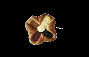 Čtvercový koláč – balený