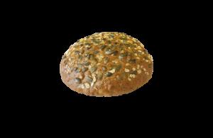 Chléb vícezrnný kulatý