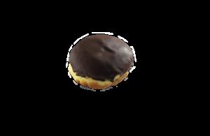 Kobliha s pudinkem a čokoládou